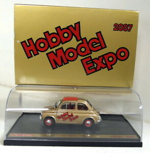 Brumm-1-43-Scale-Fiat-Nuova-500D-1960-Hobby-Model-Expo-2007-diecast-model-car