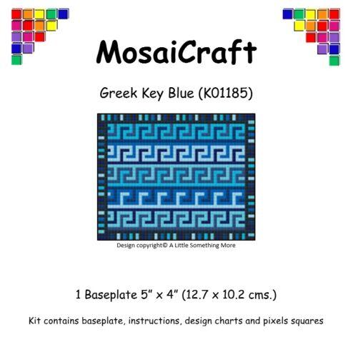 Mosaicraft pixel Craft MOSAICO Art Kit /'GRECO CHIAVE BLU/' pixelhobby