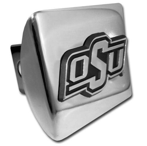 Oklahoma State OSU Chrome Metal Hitch Cover