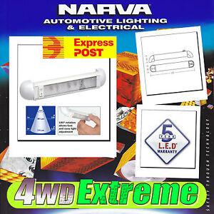NARVA-LED-INTERIOR-SWIVEL-LIGHT-STRIP-ADJUSTABLE-CARAVAN-RV-MARINE-12V-24V-87664