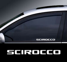 2 x VW Scirocco  Window Decal Sticker Graphic *Colour Choice*(2)