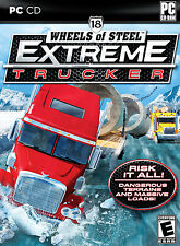 NEW - 18 Wheels of Steel: Extreme Trucker PC. Free US shipping.