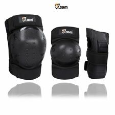 JBM International Adult Child Knee Pads Elbow Wrist Guards 3 in 1 Protective Set