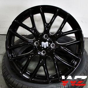 Image Is Loading 17 034 Wheels Rims Gloss Black Fits Mini