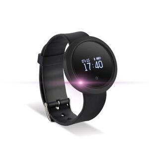 Fitness Bluetooth Sport Armband Uhr Tracker Schrittzähler für Android iOS iPhone