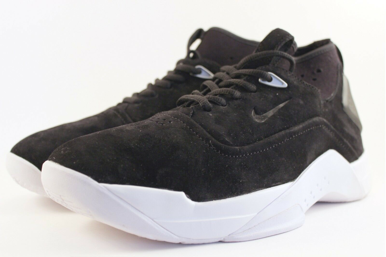 New Nike Mens Hyperdunk Low Lux Black Basketball Shoes 864022-001 Size 9