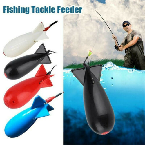 Large Carp Fishing Rocket Spod Bomb Spomb Fishing Tackle Rocket Feeder Float.