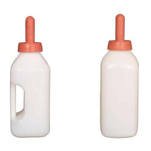 2L Screw-On Calf Nursing Set of Bottle with Nipple/&Cap