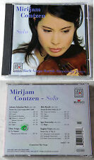 Mirjam Contzen - Solo / Bach Varga Bartok Stravisnky Ysaye .. 2004 BMG CD OVP