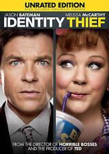Identity Thief (DVD, 2014, Unrated) Melissa McCarthy, Jason Bateman