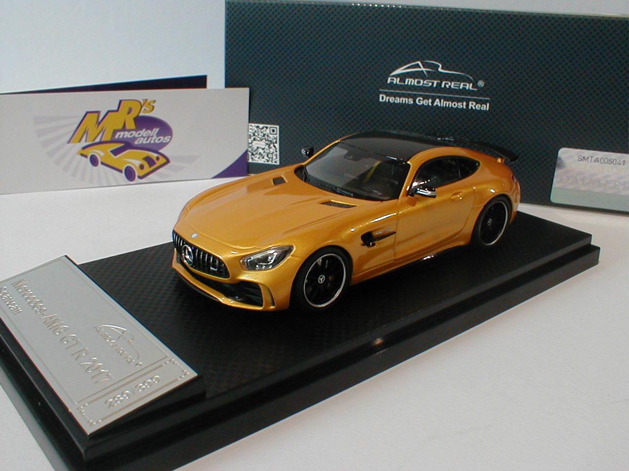 Almost Real 420702 - Mercedes-Benz AMG GT R Baujahr 2017 in   Solarbeam   1 43  | Vielfältiges neues Design