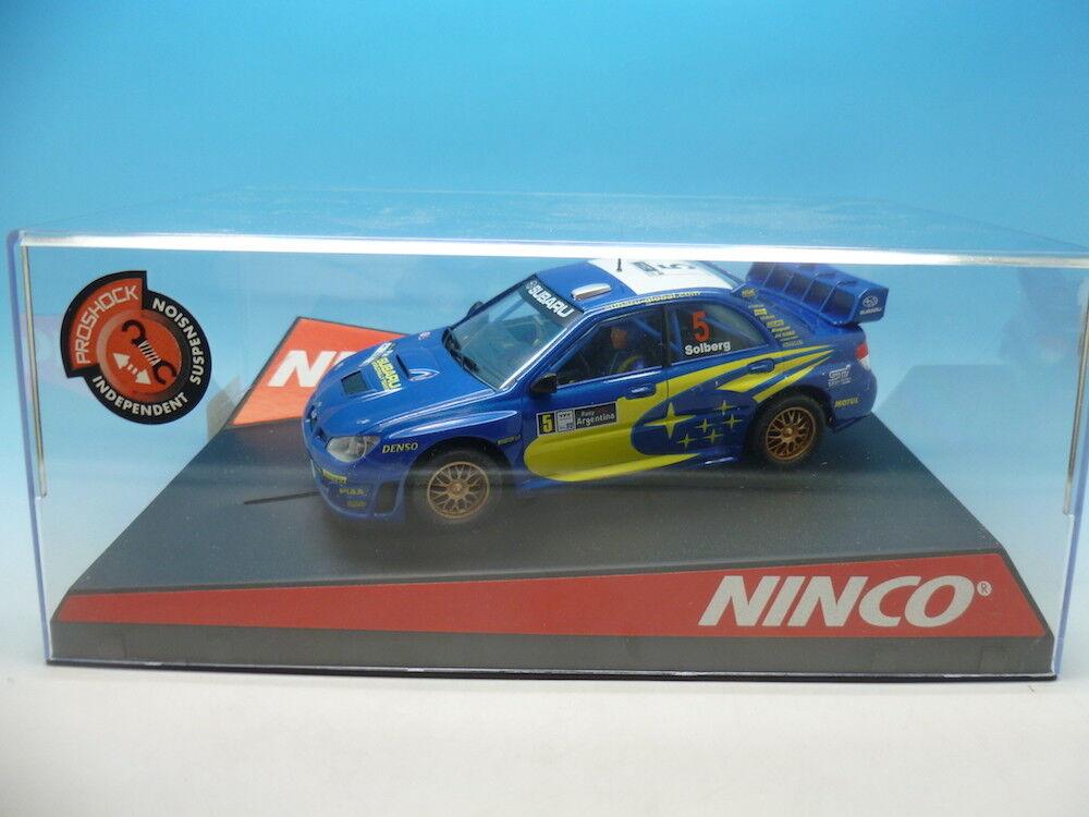 Ninco 50431 Subaru WRC 06 Rally silverina, mint unused