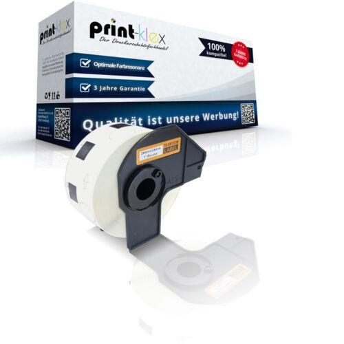 kompatible Premium Etiketten Rolle für Brother DK-11218 Adress Etiketten Easy Pr