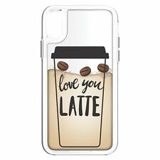 Inbox Body Glove Case Cover Love You Latte for Apple iPhone XR