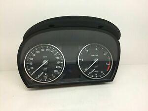 BMW-3-E90-Diesel-Compteur-Speedo-de-Vitesse-Instrument-Cluster-Km-H-9166846