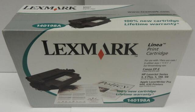Lexmark Toner 140198A schwarz