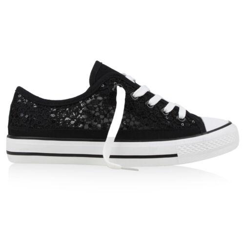 36-41 Hot Damen Sneakers 90's Style Sportschuhe Schnürer 890044 Schuhe Gr