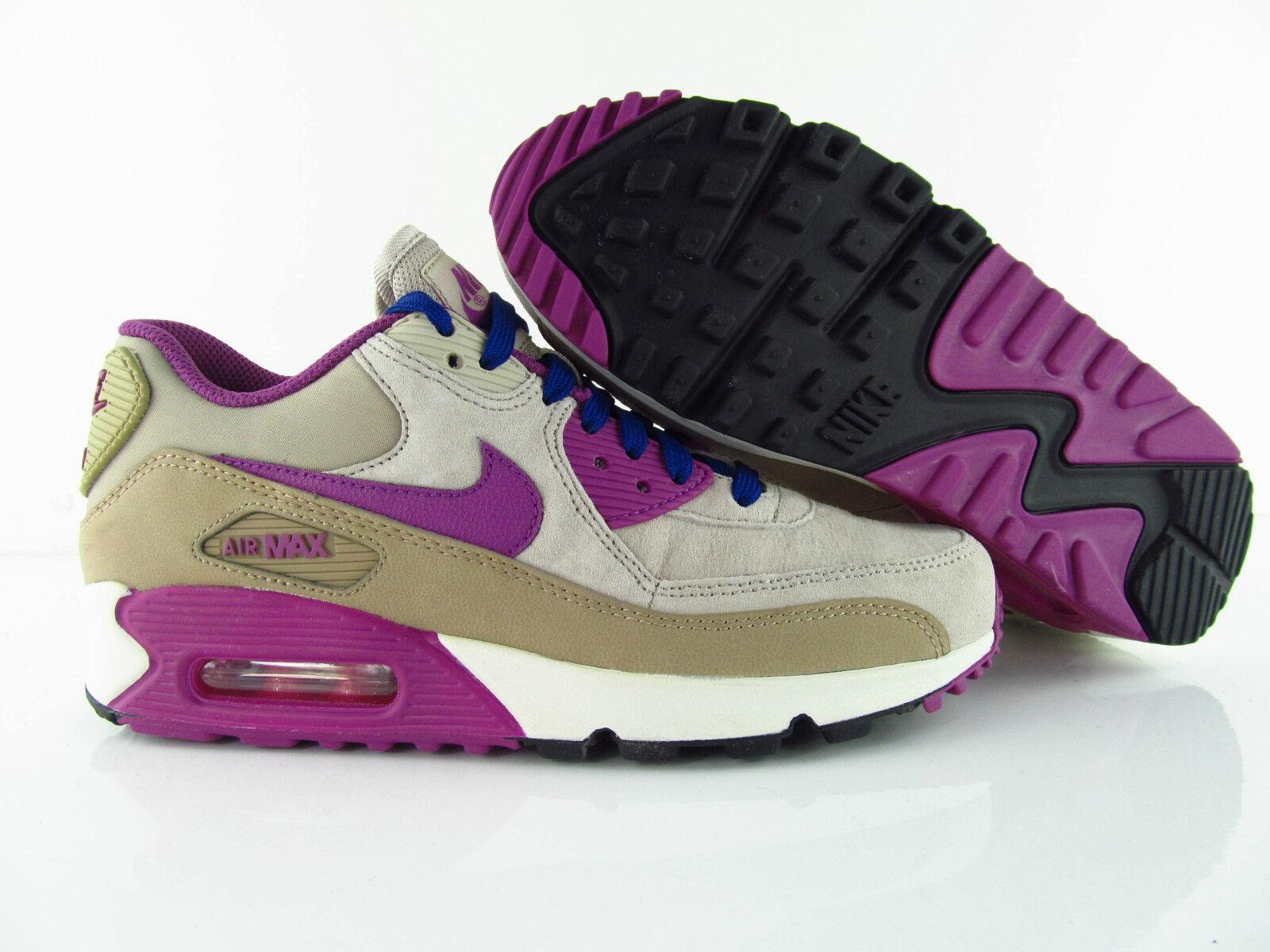 Nike Air Max 90 LTHR Leder  Desert  Camo Purple New UK_4.5  Desert US_7 Eur 38 22e8ae