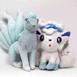 Pokemon-Vulpix-and-Ninetales-Plush-Soft-Toy-Bundle-UK-Stock