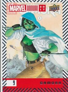 3-GAMORA-2018-2017-Upper-Deck-Marvel-Annual-GUARDIANS-of-the-GALAXY