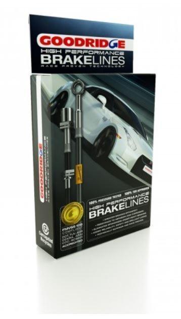 BMW X5 2002 Goodridge S/Steel Brake Lines