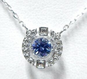 a5a3792a5 SPARKLING DANCE ROUND NECKLACE, BLUE CRYSTAL 2017 ... - photo#2