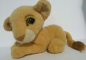 Vtg-90s-Plush-NALA-Mattel-Disney-Lion-King-Purr-Roar-Stuffed-Toy-Baby-Cub-collec