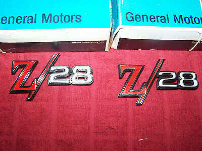 1969 Chevrolet Camaro Z//28 Fender Emblem With Studs 3957935