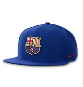 469775c5bcb Nike FC Barcelona Core Cap - Deep Royal Blue SnapBack One Size