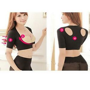 Shoulder back posture corrector corset support chest brace vest arm