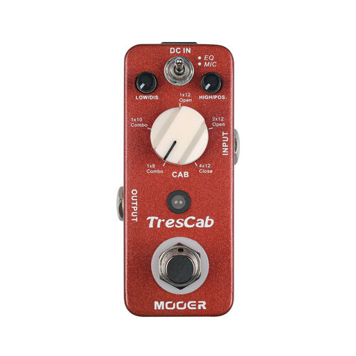 Mooer TresCab Speaker Simulator Guitar Effect Pedal
