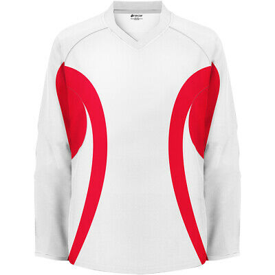 Firstar Arena Hockey Jersey WHITE//RED With Name /& Number