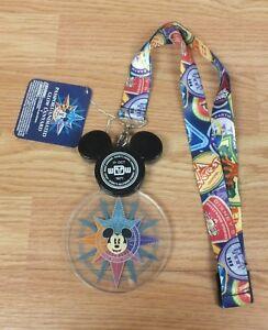 Walt-Disney-World-Discover-the-Magic-Mickey-Passport-Animated-Glow-Lanyard-READ