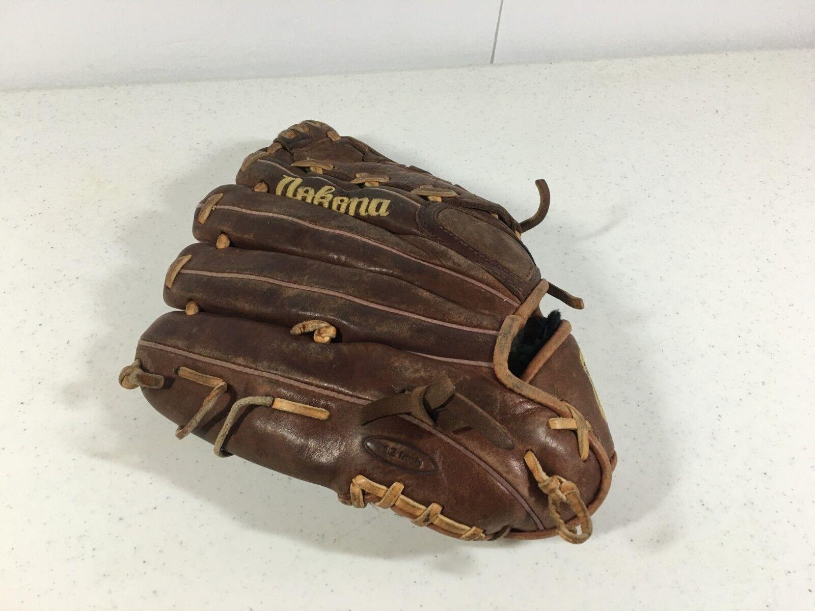 Nokona NOK 1200 Baseball Glove Mitt 12 12 Mitt inch Pro Hide Handcrafted Series Cowhide 936094