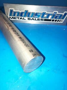 "8/""Dia x 12/""-Long 6061 T651 Aluminum Round Bar New !"