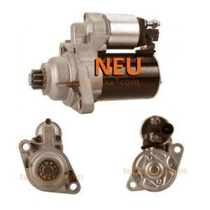 Anlasser-Starter-AUDI-Seat-Skoda-VW-1-6-2-0-0001120408-D6GS13-02T911023M-NEU
