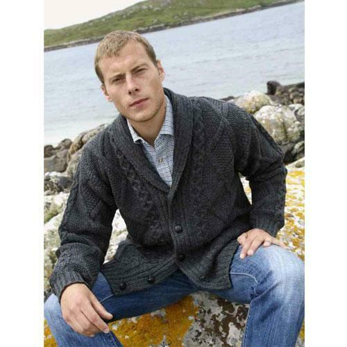 Genuine Merino Wool Real Irish Cardigan