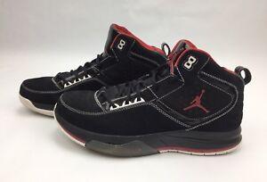 Jordan All Day Black Varsity Red White Shoe Mens Size 12  110 MSRP ... 4e425f82f3