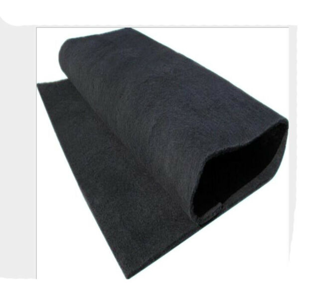 Air Conditioner Activated Carbon Purifier Pre Filter Fabric 1mx1mx5mm