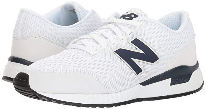 51b2cc602 Men New Balance 005V1 Sneaker shoes MRL005WB color White Navy 100% Original  New