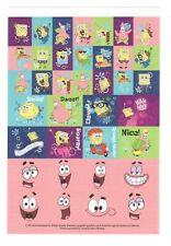 American Greeting Sticker SPONGEBOB SQUAREPANTS SCHOOL SPORTS Sheet SD20