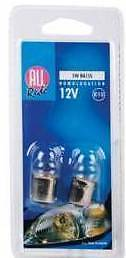 PACK OF 2 X 5W 12V BA15S CAR VEHICLE LIGHTING BULBS