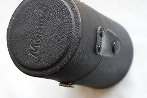 "Mamiya Lens Case for 645 AF, 645 AFD, M645 lens 3"" X 3"" with 4.5"" Tall"
