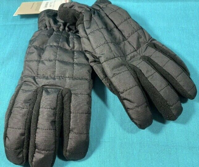Timberland Men's Touchscreen Quilted Insulated Gloves Sz. S/M NEW T100424C-001