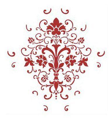 Wall Painting Grain Stencil Pattern LW SZUS