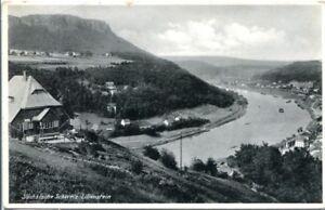 uralte AK, Sächsische Schweiz, Lilienstein, Gebirgsvereinsheim und Jugendheim