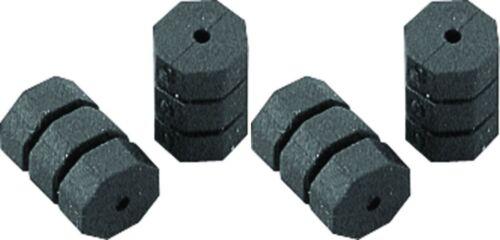 Jagwire Rahmenschutz O-Ring  passend für Schaltzug schwarz 4 stück