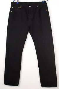 Levi's Strauss & Co Hommes 501 Jeans Jambe Droite Taille W36 L34 BBZ677