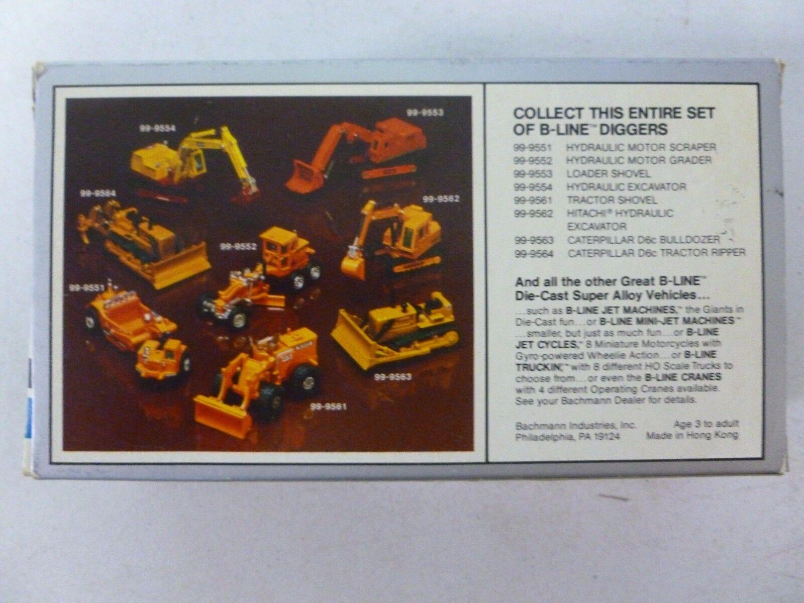Bachmann B-Line excavadoras Tractor Tractor Tractor Pala fd44cf