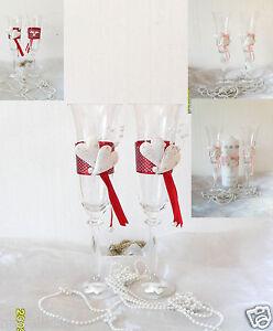 Hochzeitsgläser!♥(Sektgläser), modern ,Farbe wählbar-Hochzeit